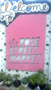 Rose Street Sign
