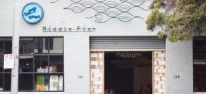 Middle Fish, 122-128 Berkeley St  Carlton  middlefish.com.au