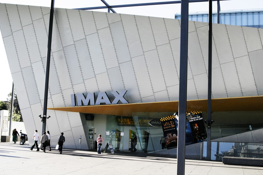 Imax Theatre - an unusual venue to watch sport