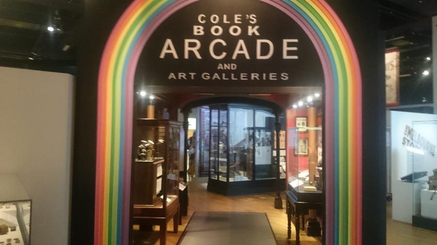 Coles Bood Arcade Melbourne Museum